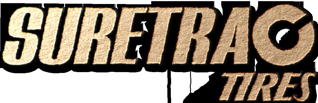 Gold Suretrac tire logo